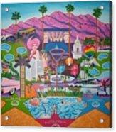 mmmm... Palm Springs Acrylic Print