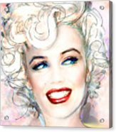 Mmother Of Pearl P Acrylic Print