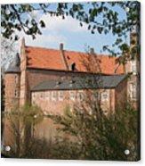 Moated Castle Herten II Acrylic Print