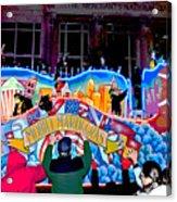 Mobile Mardi Gras Acrylic Print