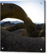 Mobius Arch Alabama Hills California 2 Acrylic Print