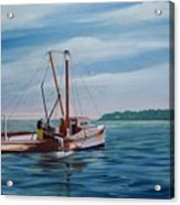 Mobjack Waterman Acrylic Print