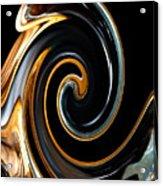 Mocha Swirl Acrylic Print