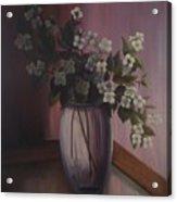 Mock Orange Blossoms Acrylic Print