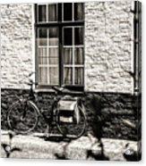 Mode Of Transport In Bruges Acrylic Print