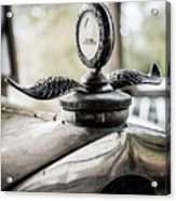 Model A Ford Hood Ornament Acrylic Print