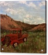 Model A Ghost Town Truck  Acrylic Print