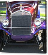Model T Ford Front End 2 Acrylic Print