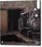 Model Train Acrylic Print