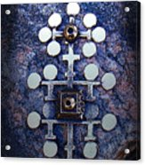 Modern Bronze Design Acrylic Print