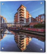 Modern Canal Living Acrylic Print