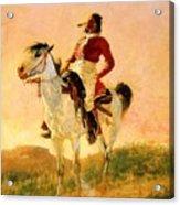 Modern Comanche 1890 Acrylic Print