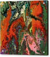 Modern Composition 22 Acrylic Print