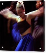 Modern Dance Motion Acrylic Print