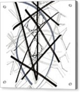 Modern Drawing Forty-six Acrylic Print