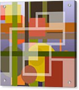 Modern Harmonious Abstract Acrylic Print