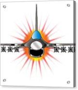 Modern Jet Fighter Acrylic Print