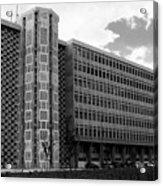 Modern Lisbon - The Palace Of Justice Acrylic Print