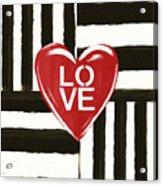 Modern Love- Art By Linda Woods Acrylic Print