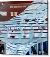 Ghostly Shopping Mall Acrylic Print