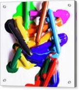 Modern Rainbow Art Acrylic Print