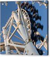 Modern Roller Coaster Acrylic Print