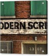 Modern Screw Acrylic Print
