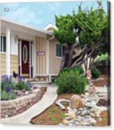 Modern Suburban House Hayward California 26 Acrylic Print