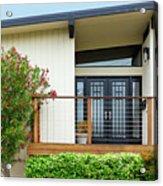 Modern Suburban House Hayward California 27 Acrylic Print