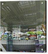 Modern Subway Station Design In Taiwan Acrylic Print
