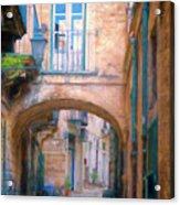 Modica Street Acrylic Print