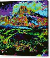 Modified Mountain Ddd5b Acrylic Print