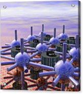 Modular City Acrylic Print