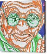 Mohandas Karamchand Gandhi  Acrylic Print