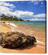 Mokapu Beach Maui Acrylic Print