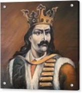 Moldavian Prince Stefan Cel Mare Acrylic Print