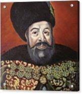 Moldavian Prince Vasile Lupu Acrylic Print
