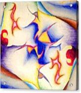 Molecule Of A Mirror Acrylic Print