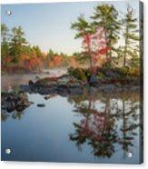 Molega Lake, Nova Scotia Acrylic Print