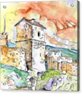 Molina De Aragon Spain 02 Acrylic Print