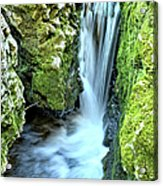 Moine Creek Goes Vertical Acrylic Print