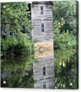 Mollohan Mill 3 Acrylic Print by Carolyn Postelwait