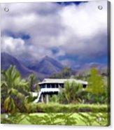 Moloa A Bay Hideaway Acrylic Print