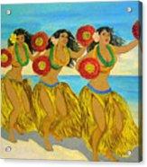 Moloka'i Hula Acrylic Print