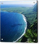 Molokai, View Acrylic Print