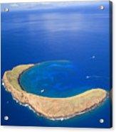 Molokini Crater Acrylic Print