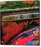 Molson Gm Truck Acrylic Print