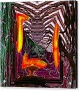 Molten Acrylic Print