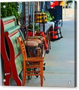 Mom And Pop Shops  Acrylic Print