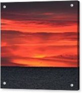 Moment Before Sunrise Acrylic Print